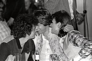 Lou Reed Mick Jagger e David Bowie