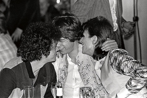 Lou Reed Mick Jagger e David Bowie